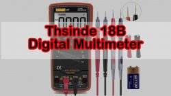 Digital Multimeter: Thsinde 18B+ Auto And Manual Ranging Review